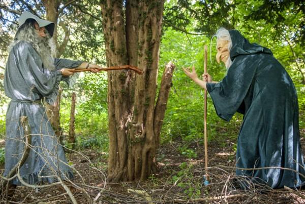 Leuke activiteiten voor kinderen into the wild wild woods bosspel
