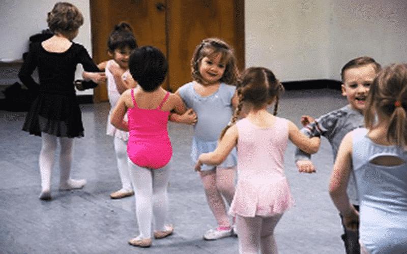 dans workshop peuters kinderdagverblijf