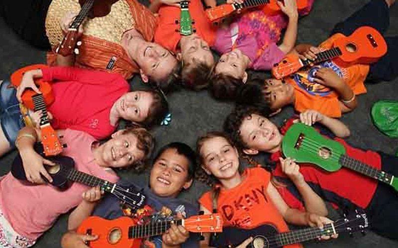 activiteiten kinderopvang bso zomervakantie ukulele