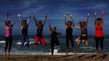 familiedag activiteiten ideeen yoga