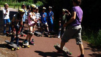 activiteiten bso zomervakantie longboarden sport